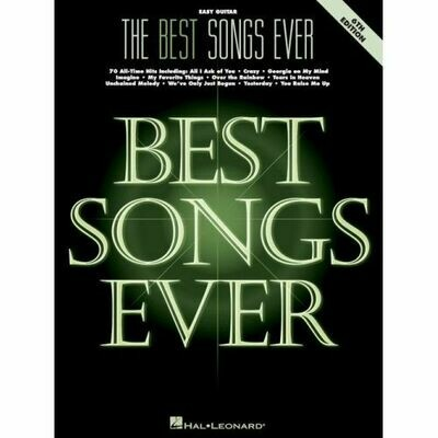 The Best Songs Ever - 6th Edition (Easy Guitar)
