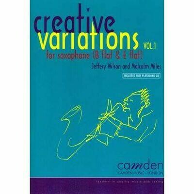 Miles: Creative Variations Volume 1 (Alto Saxophone)