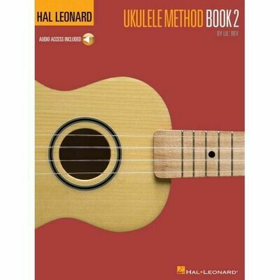 Hal Leonard Ukulele Method Book 2 with Online Audio