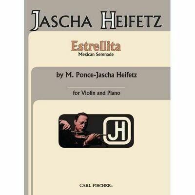 Jascha Heifetz: Estrellita (Violin & Piano)