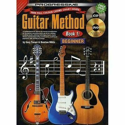 Progressive Guitar Method Bk 1 Beginner