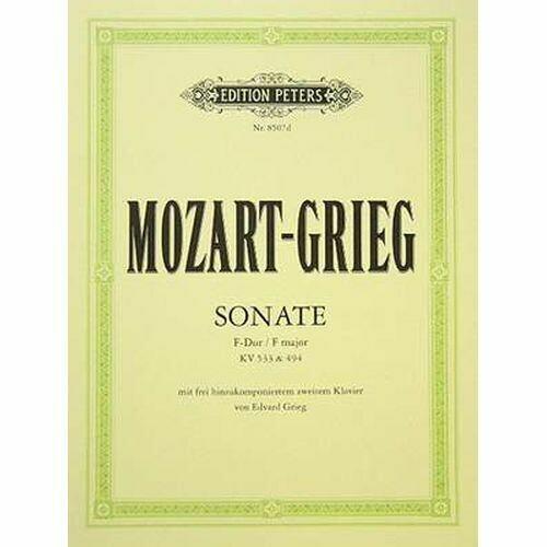 Mozart/Grieg: Sonata in F major K533 (with Rondo K494)