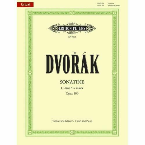 Dvorák: Sonatine in G Op.100 for Violin & Piano