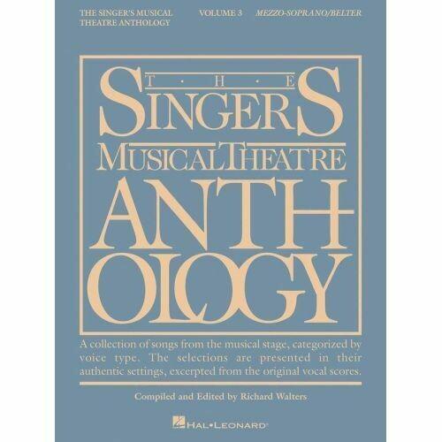 The Singer's Musical Theatre Anthology - Volume Three (Mezzo-Soprano/Belter)