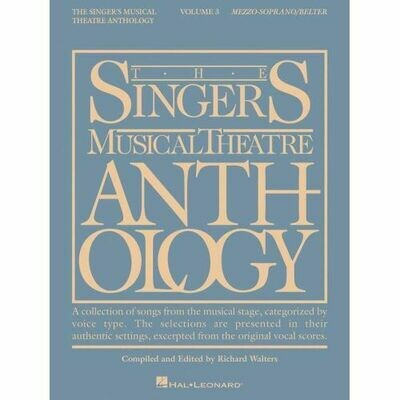 The Singer's Musical Theatre Anthology - Volume Three (Mezzo-Soprano/Belter)