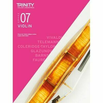 Trinity College London Violin Grade 7 (2020-2023) Violin & Piano Part