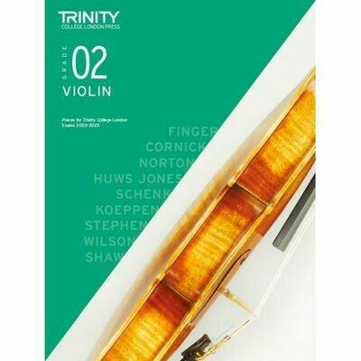 Trinity College London Violin Grade 2 (2020-2023) Violin & Piano Part