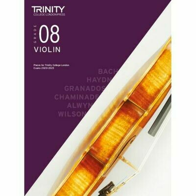 Trinity College London Violin Grade 8 (2020-2023) Violin & Piano Part