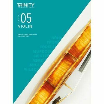 Trinity College London Violin Grade 5 (2020-2023) Violin & Piano Part