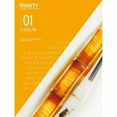Trinity College London Violin Grade 1 (2020-2023) Violin & Piano Part