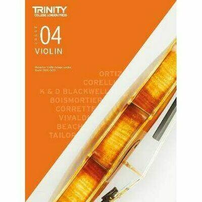Trinity College London Violin Grade 4 (2020-2023) Violin & Piano Part