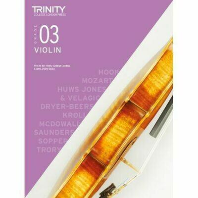 Trinity College London Violin Grade 3 (2020-2023) Violin & Piano Part