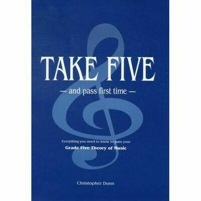 Christopher Dunn: Take Five and Pass First Time