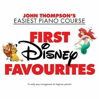 John Thompson's Piano Course First Disney Favourites