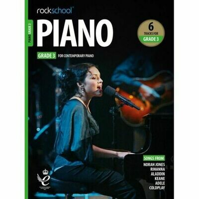 Rockschool Piano - Grade 3 (2019+)
