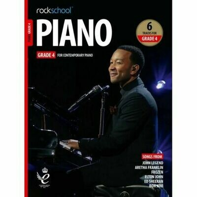 Rockschool Piano - Grade 4 (2019+)