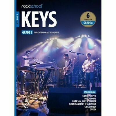 Rockschool Keys - Grade 8 (2019+)