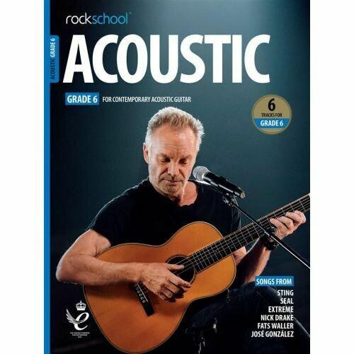 Rockschool Acoustic Guitar - Grade 6 (2019)