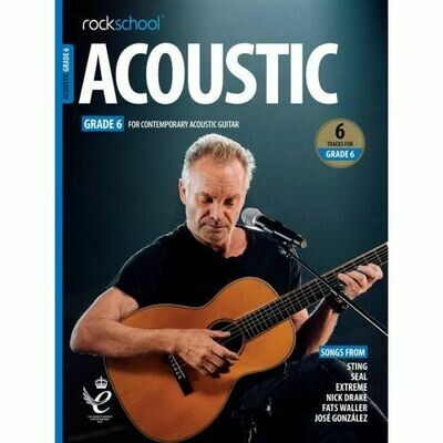 Rockschool Acoustic Guitar - Grade 6 (2019)
