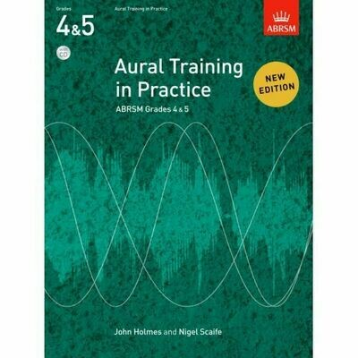 ABRSM Aural Training in Practice Grades 4-5 (Book with 2CD)
