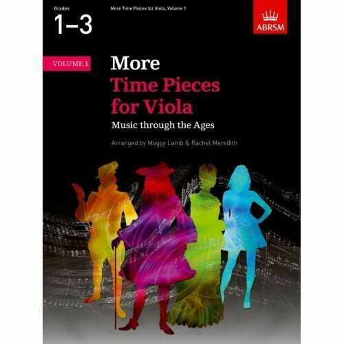 ABRSM More Time Pieces for Viola, Volume 1