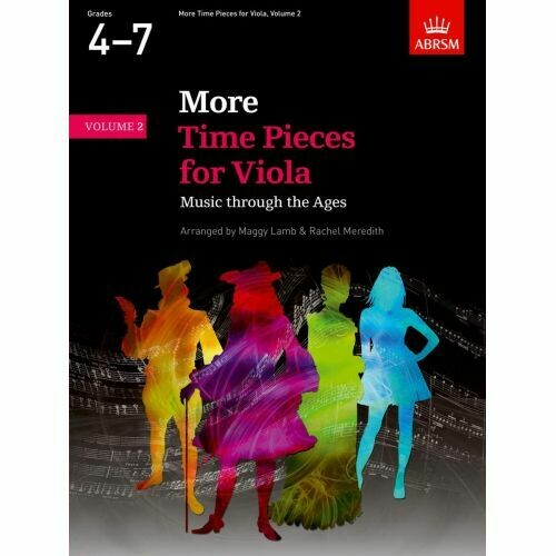 ABRSM More Time Pieces for Viola, Volume 2