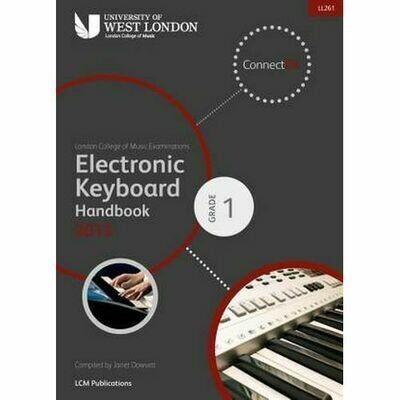 LCM Electronic Keyboard Handbook Grade 1 (2013+)