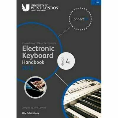 LCM Electronic Keyboard Handbook Grade 4 (2013+)