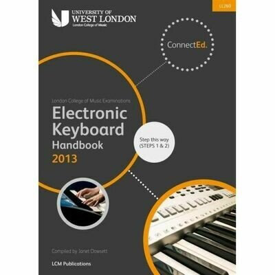 LCM Electronic Keyboard Handbook Step This Way (Steps 1 &2) (2013+)