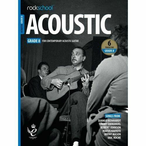 Rockschool Acoustic Guitar - Grade 8 (2019+)