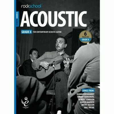 Rockschool Acoustic Guitar - Grade 8 (2019+)