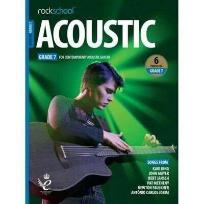 Rockschool Acoustic Guitar - Grade 7 (2019+)