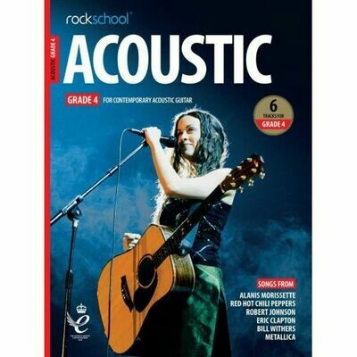 Rockschool Acoustic Guitar - Grade 4 (2019+)
