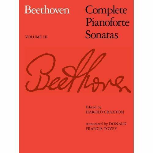 Ludwig van Beethoven: Complete Pianoforte Sonatas - Volume III