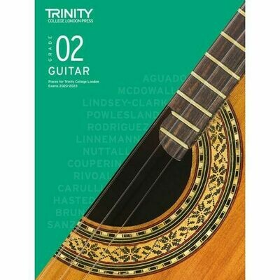 Trinity Classical Guitar Exam Pieces Grade 2 2020-2023