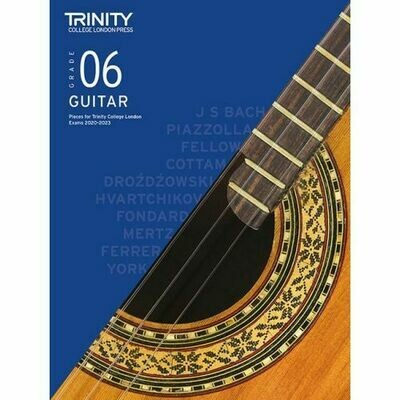 Trinity Classical Guitar Exam Pieces Grade 6 2020-2023