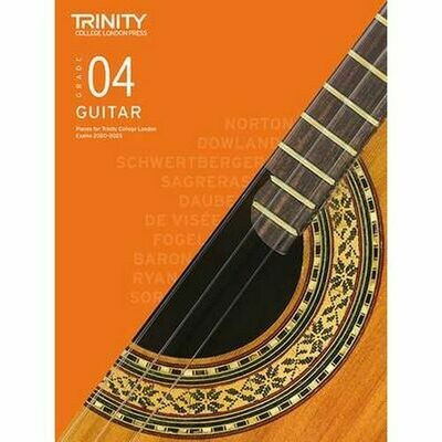 Trinity Classical Guitar Exam Pieces Grade 4 2020-2023