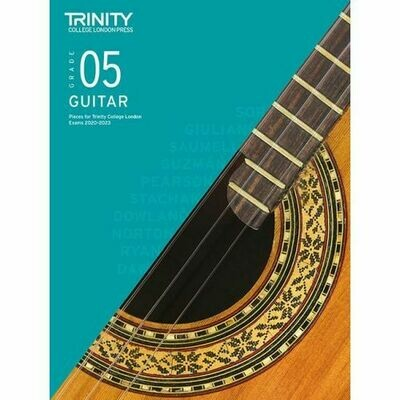 Trinity Classical Guitar Exam Pieces Grade 5 2020-2023