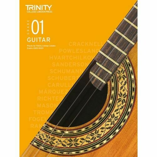 Trinity Classical Guitar Exam Pieces Grade 1 2020-2023