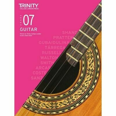 Trinity Classical Guitar Exam Pieces Grade 7 2020-2023