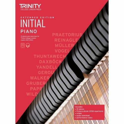 Trinity Piano Exam Pieces & Exercises 2021-2023 - Initial Extended Edition