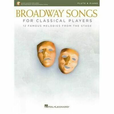 Broadway Songs for Classical Players (flute)