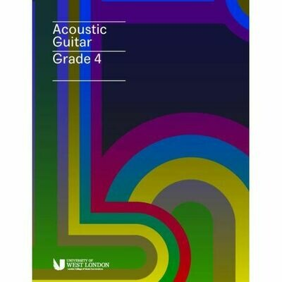 LCM Acoustic Guitar Handbook Grade 4 (2020+)