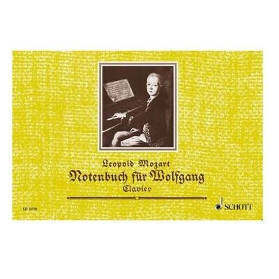 Leopold Mozart: Notenbuch Fur Wolfgang piano