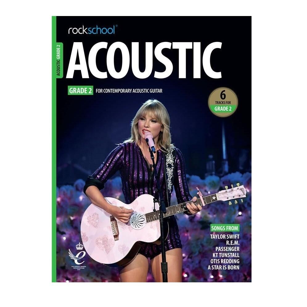 Rockschool Acoustic Guitar - Grade 2 (2019+)