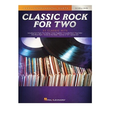 Classic Rock for Two violins