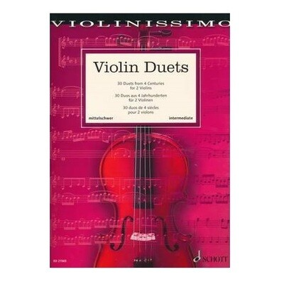 Violin Duets (30 Duets from 4 Centuries)