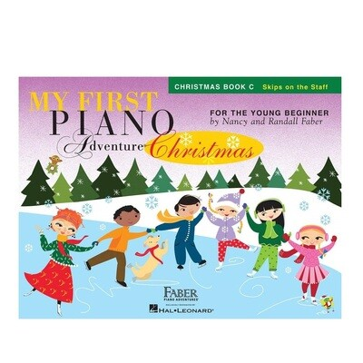 My First Piano Adventure - Christmas Book C (with CD)