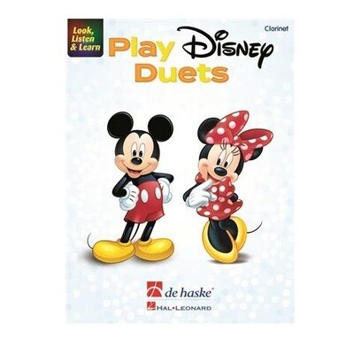 Look, Listen and Learn - Play Disney Duets for Clarinet