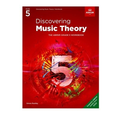 ABRSM Discovering Music Theory Book -  Grade 5